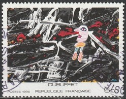 France 1985 - Painting By Jean Dubuffet ( Mi 2513 - YT 2381 ) - France