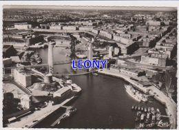 CPSM 10X15 De  BREST   (29) - Le PONT NATIONAL Et La RUE De SIAM - VUE AERIENNE N° 237-23A - Brest