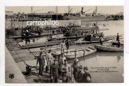 - CPA LA PALLICE (17) - Sous-Marins Et Scaphandriers (belle Animation) - Edition Tesson (MTIL) 223 - - La Rochelle