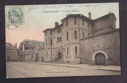 CPA 51 - SAINTE-MENEHOULD - La Prison Cellulaire - TB PLAN Etablissement De JUSTICE Petite Animation 1906 - Sainte-Menehould