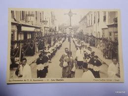 CHALLANS-La Procession Du T.S Sacrement-Les Choristes - Challans