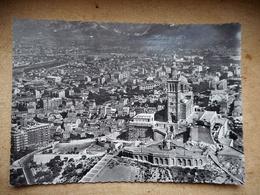 CPM 13 MARSEILLE VUE AERIENNE DE LA BASILIQUEDE NOTRE DAME DE LA GARDE - Marseille