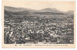 38 - GRENOBLE - Téléférique De La Bastille Et Panorama De La Ville - Ed. CAP N° 193 - Grenoble