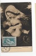 Carte Maximum 1939 La Vierge Au Coussin Vert - Maximum Cards