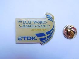 Beau Pin's , Athlétisme , IAAF - International Association Of Athletics Federations , TDK - Athletics