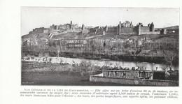 1924 - Iconographie - Carcassonne (Aude) - Vue Générale - FRANCO DE PORT - Old Paper