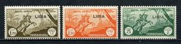 LIBYE TRIPOLITAINE 1941 PA N° 21/23 ** Neufs  MNH Superbes C 7,20 € Chevaux Horses Animaux - Libye