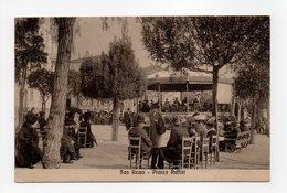 - CPA SAN REMO (Italie) - Piazza Ruffini 1914 (belle Animation) - Edit. D. T. 79247 - - San Remo