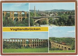 Vogtlandbrücken: ZUG - Elstertalbrücke, Göltzschtalbrücke, Friedrich-Ebert Brücke & Syratalbrücke - D.D.R. - Treinen