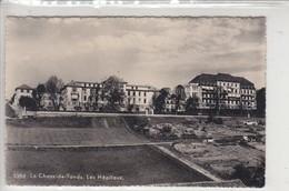 LA CHAUX-DE-FONDS - LES HÔPITAUX - VUE DE 1949 - NE Neuchâtel