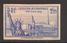 Exposition De New-York YT 426 De 1939 Sans Trace De Charnière RARE - France