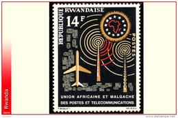 Rwanda 0023**  Poste Et Telecommunication  MNH - Rwanda