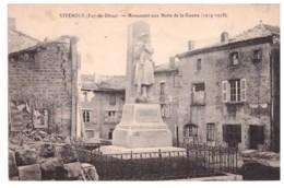 VIVEROLS Monument Aux Morts De La Guerre (1914-1918) - France
