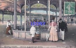 CPA De VICHY (03) - SOURCE De La GRANDE GRILLE N° 2703 - - Vichy