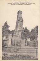 CPA - Passavant En Argonne - Monument Commémortif Du Massacre Des Mobiles En 1870 - France