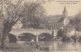 CPA - Laneuville à Bayard - Le Pont - La Marne Et L'église - France