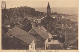 CPA - Romain Sur Meuse - Panorama - France