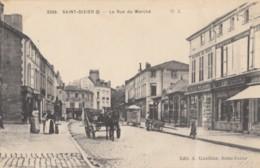 CPA - St Dizier - La Rue Du Marché - Saint Dizier