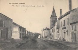 CPA - Laneuville Devant Nancy - Grande Rue - France