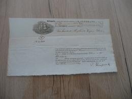 Connaissement USA Etats Unis 1824 Tabac De Virginie Richmond Pour Le Havre - Etats-Unis