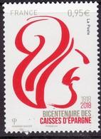 """FRANCE 2018 YT 5207 """"Bicentenaire Des Caisses D'épargne 1818-2018"""" - France"""