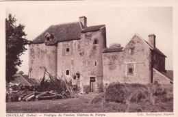 36 - Indre - CHAILLAC - Vestiges De L Ancien Chateau De Forges - France