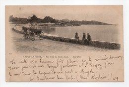 - CPA CAP D'ANTIBES (06) - Vue Prise Du Golfe Juan 1902 (avec Personnages) - Photo Neurdein 271 - - Antibes