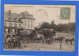 15 CANTAL - RAULHAC Arrivée Des Diligences - France