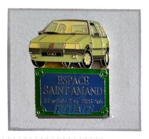 Pin's  Ville, Automobile  FIAT  UNO  ESPACE  SAINT  AMAND  PARIS  ( 75 ) - Fiat