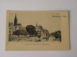 BAS RHIN-STRABOURG -STRASSBUR I/ELS-PARTIE ANDER Ill MIT KAUFHAUS-N207- - Strasbourg