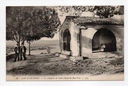 - CPA CAP D'ANTIBES (06) - La Chapelle De Notre-Dame-de-Bon-Port - Editions Lévy N° 46 - - Antibes
