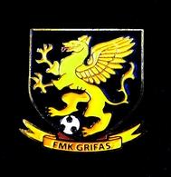Football Pins  -  F.M.K. GRIFAS, Marijampole - Lithuania. - Football