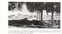 1924 - Iconographie - Castelnaudary (Aude) - Vue Générale - FRANCO DE PORT - Old Paper