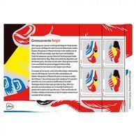 Nederland  2018   Grenscorrectie  Nederland - Belgie 2          Blok/m/s   Postfris/mnh/neuf - Period 1980-... (Beatrix)