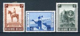 (B) 938/940 MH* 1954 - Monument Van Z.M. Koning Albert 1 Te Namen. - Belgique