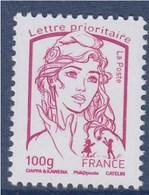= Marianne Et La Jeunesse Gommé TVP Lettre Prioritaire -100g France  N° 4772 Fuschia Neuf - 2013-... Marianne De Ciappa-Kawena