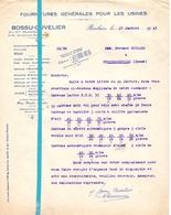 Factuur Facture - Bossu - Cuvelier - Roubaix - 27 Jan 1941 - France