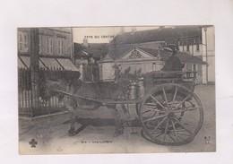 CPA TYPES DU CENTRE (CHER ET ALLIER) UNE LAITIERE En 1907! - Centre-Val De Loire
