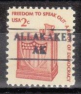 USA Precancel Vorausentwertung Preo, Locals Alaska, Allakaket  882 - Etats-Unis