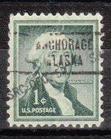 USA Precancel Vorausentwertung Preo, Locals Alaska, Anchorage 734 - Etats-Unis