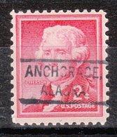 USA Precancel Vorausentwertung Preo, Locals Alaska, Anchorage 804 - Etats-Unis