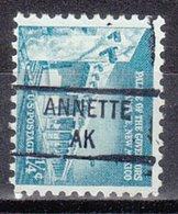 USA Precancel Vorausentwertung Preo, Locals Alaska, Annette 841 - Etats-Unis