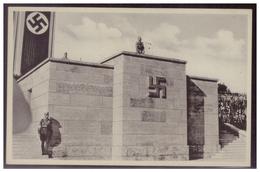 Dt-Reich (007312) Propaganda Postkarte, Nürnberg Die Stadt Der Reichsparteitage, Blanco Gestempelt Mit SST Berlin SO36 - Deutschland