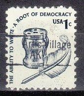 USA Precancel Vorausentwertung Preo, Locals Alaska, Arctic Village 843 - Vereinigte Staaten