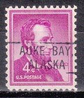 USA Precancel Vorausentwertung Preo, Locals Alaska, Auke Bay 802 - Etats-Unis