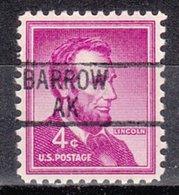 USA Precancel Vorausentwertung Preo, Locals Alaska, Barrow 839 - Etats-Unis