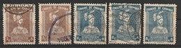 MiNr. 344 - 345  Kolumbien 1933, 30. Dez. 400 Jahre Stadt Cartagena De Las Indias (I) - Kolumbien