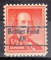 USA Precancel Vorausentwertung Preo, Locals Alaska, Bettles Field 843 - Vereinigte Staaten