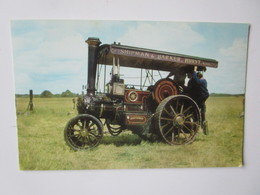 Burrell Compound Three Speed Steam Tractor No.3458, Built 1913. Salmon 6-05-56-44 - Tracteurs