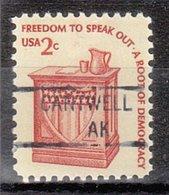 USA Precancel Vorausentwertung Preo, Locals Alaska, Cantwell 841 - Vereinigte Staaten